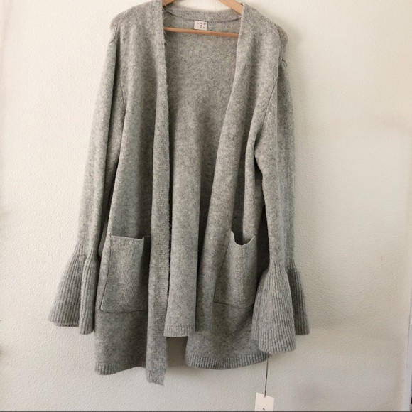 A New Day Sweaters Bell Sleeve Cardigan Sweater Nwt Poshmark